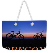 Oregon Bikes 2 Weekender Tote Bag