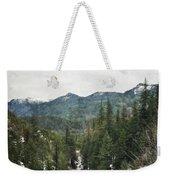 Oregon Cascade Range Weekender Tote Bag