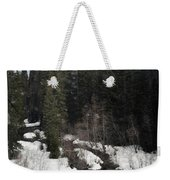 Oregon Cascade Range River Weekender Tote Bag