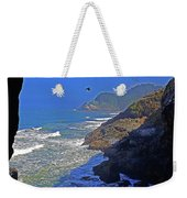Oregon Coast From Sea Lion Caves Weekender Tote Bag