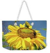 Oregon Gardens Silverton Sunflower Honeybee Baslee  Weekender Tote Bag