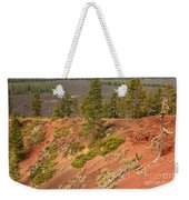 Oregon Landscape - Red Crater Weekender Tote Bag