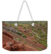Oregon Landscape - Red Rocks At Lava Butte Weekender Tote Bag