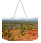 Oregon Landscape - View From Lava Butte Weekender Tote Bag