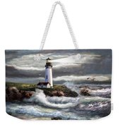 Oregon Lighthouse Beam Of Hope Weekender Tote Bag