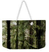 Oregon Old Growth Coastal Forest Weekender Tote Bag
