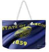 Oregon State Flag Weekender Tote Bag
