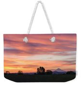 Oregon Sunrise Weekender Tote Bag