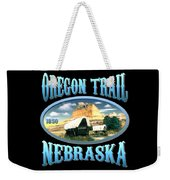 Oregon Trail Nebraska History Design Weekender Tote Bag