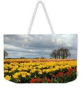 Oregon Tulip Fields 2 Photograph Weekender Tote Bag