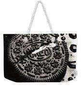 Oreo Cookie Weekender Tote Bag by Nancy Mueller