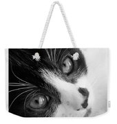 Oreo In Black And White Weekender Tote Bag
