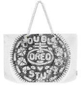 Oreo In Negetive Weekender Tote Bag