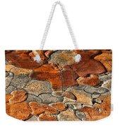 Organic Abstract Weekender Tote Bag