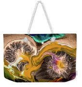 Organic Abstract Weekender Tote Bag