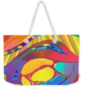 Organic Life Scan Or Cellular Light - Blood Weekender Tote Bag