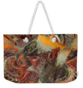 Organic Shapes And Colors Weekender Tote Bag