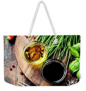 Organic Vegetables And Spices Weekender Tote Bag
