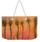 Organic Watercolor Art Weekender Tote Bag