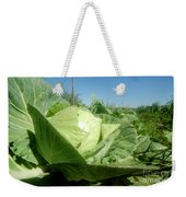 Organic White Cabbage  Weekender Tote Bag