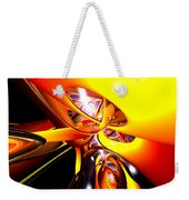 Organized Confusion Abstract Weekender Tote Bag