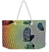 Organized Tranquility  Weekender Tote Bag