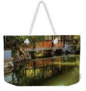 Orient - Bridge - The Chinese Garden Weekender Tote Bag