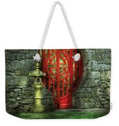 Orient - Door - The Moon Gate Weekender Tote Bag