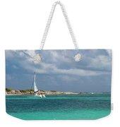 Orient Beach Catamaran Weekender Tote Bag