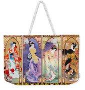 Oriental Gate Multi-pic Weekender Tote Bag
