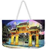 Oriental Gateway Weekender Tote Bag