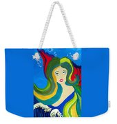 Japanese Mermaid Bubbles  Weekender Tote Bag
