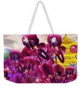 Oriental Orchid Garden Weekender Tote Bag
