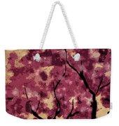 Oriental Plum Blossom Weekender Tote Bag