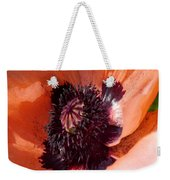 Oriental Poppy - Duvet Covers Weekender Tote Bag