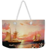 Oriental Sailor Chiefs Gathered For A Meeting On The Shores Of The Black Sea Weekender Tote Bag