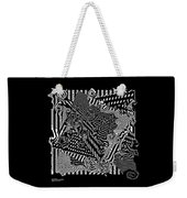 Origami Abstraction Weekender Tote Bag