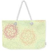 Origami Blooms Weekender Tote Bag