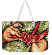 Origami Weekender Tote Bag