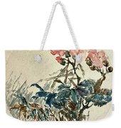 Original Chinese Flower Weekender Tote Bag