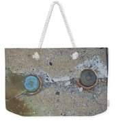 Original Damaged Pipes Weekender Tote Bag