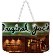 Original Joe's Night View  Weekender Tote Bag