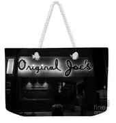 Original Joe's  San Jose Bw Weekender Tote Bag