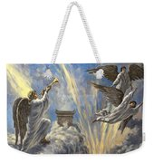 Sixth Trumpet Angel Weekender Tote Bag