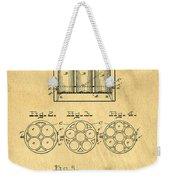 Original Patent For Canning Jars Weekender Tote Bag