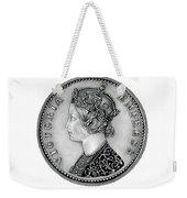 Original Silver Victoria Empress Weekender Tote Bag