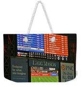 Orioles Game At Camden Yards Weekender Tote Bag