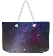 Orion And Canis Major Showing Dog Stars Weekender Tote Bag
