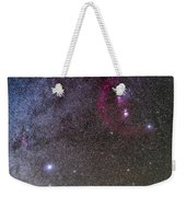 Orion And Canis Major With The Dog Star Weekender Tote Bag
