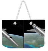 Orion IIi - Gently Cross Your Eyes And Focus On The Middle Image Weekender Tote Bag